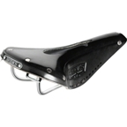 Brooks B17 Narrow Imperial Saddle Black with Laces