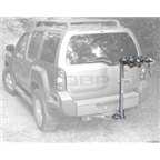 Kuat Alpha 3-Bike Mast Hitch Rack: Black/Chrome