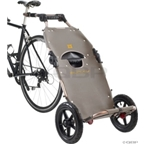 Burley Travoy Cargo Trailer Silver/Black