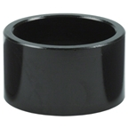 "Wheels Manufacturing Aluminum 1 1/8"" Headset Stack Spacers - Black"