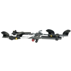 "Saris CycleOn Pro 2"" Receiver Locking Hitch Rack: 2-Bike"