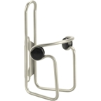 Dimension Button Water Bottle Cage: Stainless Steel