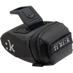Fizik Seat Bag with Clip: Dark Gray; SM