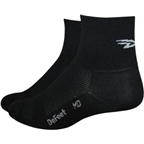 "DeFeet AirEator ""D"" Logo Sock: Black"