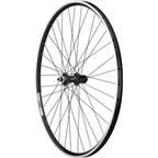 Quality Wheels Sport Series 3 Rear Wheel: Shimano 105-5700 36h Black, Velocity A23 700c Black