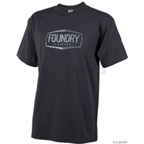 Foundry Cycles Badge T-shirt: Charcoal