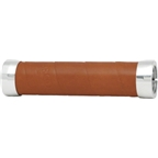 Brooks Slender Leather Grips - Aged Leather