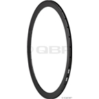 H Plus Son 700c Rim 24h Black SL42 Machined Brake Track