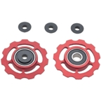 CeramicSpeed Pulleys Red Shimano 9+10 SRAM XX