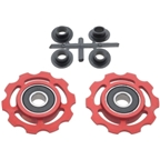 CeramicSpeed Pulleys Campy 9+10spd, Red