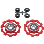 CeramicSpeed Pulleys Campy 11spd Red