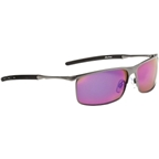 Optic Nerve Steeleye Polarized Sunglasses: Matte Gunmetal