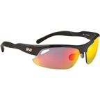 Optic Nerve Neurotoxin 2.0 Sunglasses with 3 Premium Performance Interchangeable Lenses: Carbon Gray