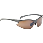 Optic Nerve Omnium Sunglasses with 2 Deuce Performance Interchangeable Lenses: Gloss Metalic Gray