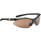 Optic Nerve Actionsuit Sunglasses with 2 Deuce Performance Interchangeable Lenses: Gloss Carbon