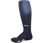 DeFeet Woolie Boolie Knee Hi Sock: Charcoal