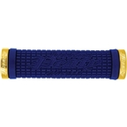 Lizard Skins Peaty Lock-On Bonus Pack: Blue/Gold