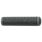 Lizard Skins Dual Density MTB Grips: Black/Gray
