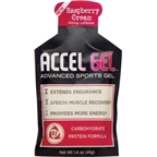 Accel Gel: Raspberry Cream; 24 Pack
