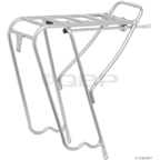Civia Market Short Rear Rack: Silver