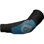 SixSixOne Rhythm Protective Elbow and Forearm Pad: Black/Blue