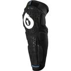 SixSixOne Rampage Protective Knee / Shin Pad: Black