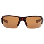 Native Blanca Sunglasses: Maple Tortoise with Brown IC / Polarized Lens