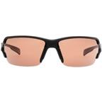 Native Blanca Sunglasses: Asphalt with Copper IC / Polarized Lens