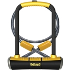 """OnGuard PitBull U-Lock DT with Cable and Bracket: 4.5 x 9"""""""