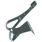 MKS Steel Toe Clips Chrome