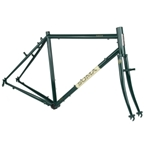 Soma Saga Touring Frame Set - British Racing Green