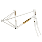 Soma Buena Vista Mixte Frame Set - White