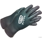 Glacier Glove Super G Cycling Gloves - Black