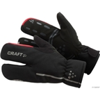 Craft Thermal Split Finger Glove: Black