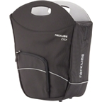 Racktime BuyIt Tote Bag / Shopping Pannier: Each; Black