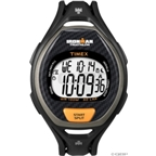 Timex Ironman 50-Lap Sleek Sport Watch: Full-Size; Black