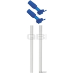 Camelbak eddy Kid's Bite Valve and Straw: 2-Pack; Blue