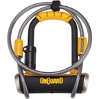 OnGuard Pitbull Mini Double Team U-Lock with cable: 3.5 x 5""