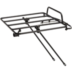 Civia Pizzeria Platform Front Rack V2: Black