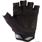 Fox Racing Reflex Gel Short Finger Glove: Black