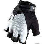 Fox Racing Reflex Gel Short Finger Glove: Black/White