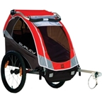 Burley Solo 2013 Child Trailer, Red