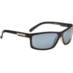 Optic Nerve Caspien Polarized Sunglasses: Shiny Black