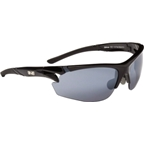 Optic Nerve Gridlock Performance IC Premium Sunglasses: Shiny Black