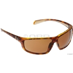 Native Bigfork Sunglasses: Tigers Eye with Brown Polarized Lens