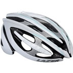 Lazer Helium Helmet: White/Light Blue