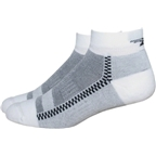 DeFeet Cloud 9 Low Sock: White