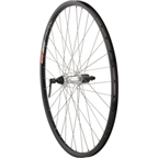 "Quality Wheels Value Series 2 Rear Wheel 26"" Shimano RM70 Silver / Alex DC19 Black"