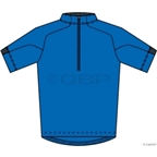 Ibex Indie Wool Jersey: Blue Ribbon