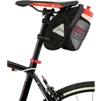 Axiom Fondo H20 Seat Bag: Black/Gray